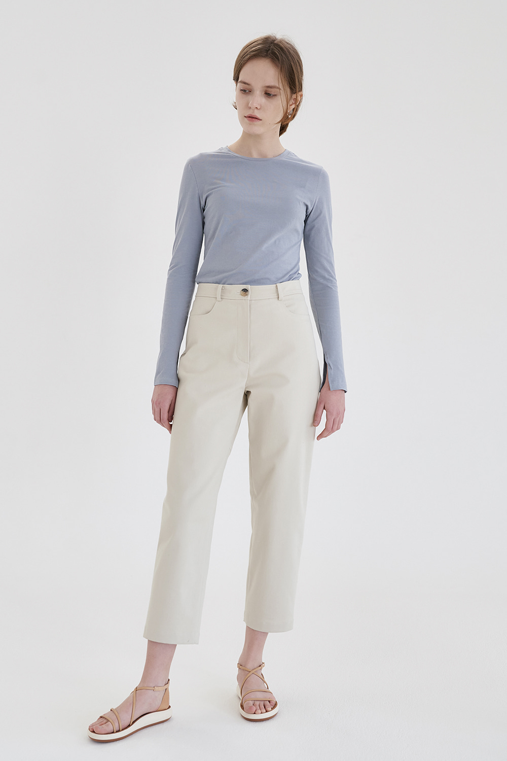 comfortable silhouette pants