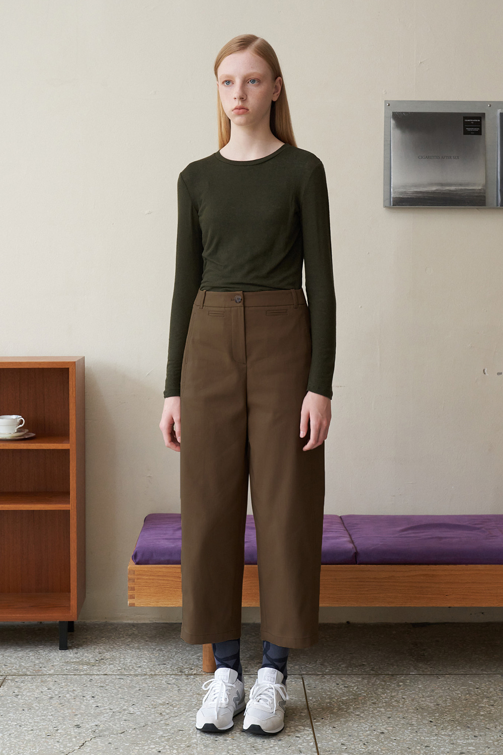 [Dust Brown]Aesthetic value pants