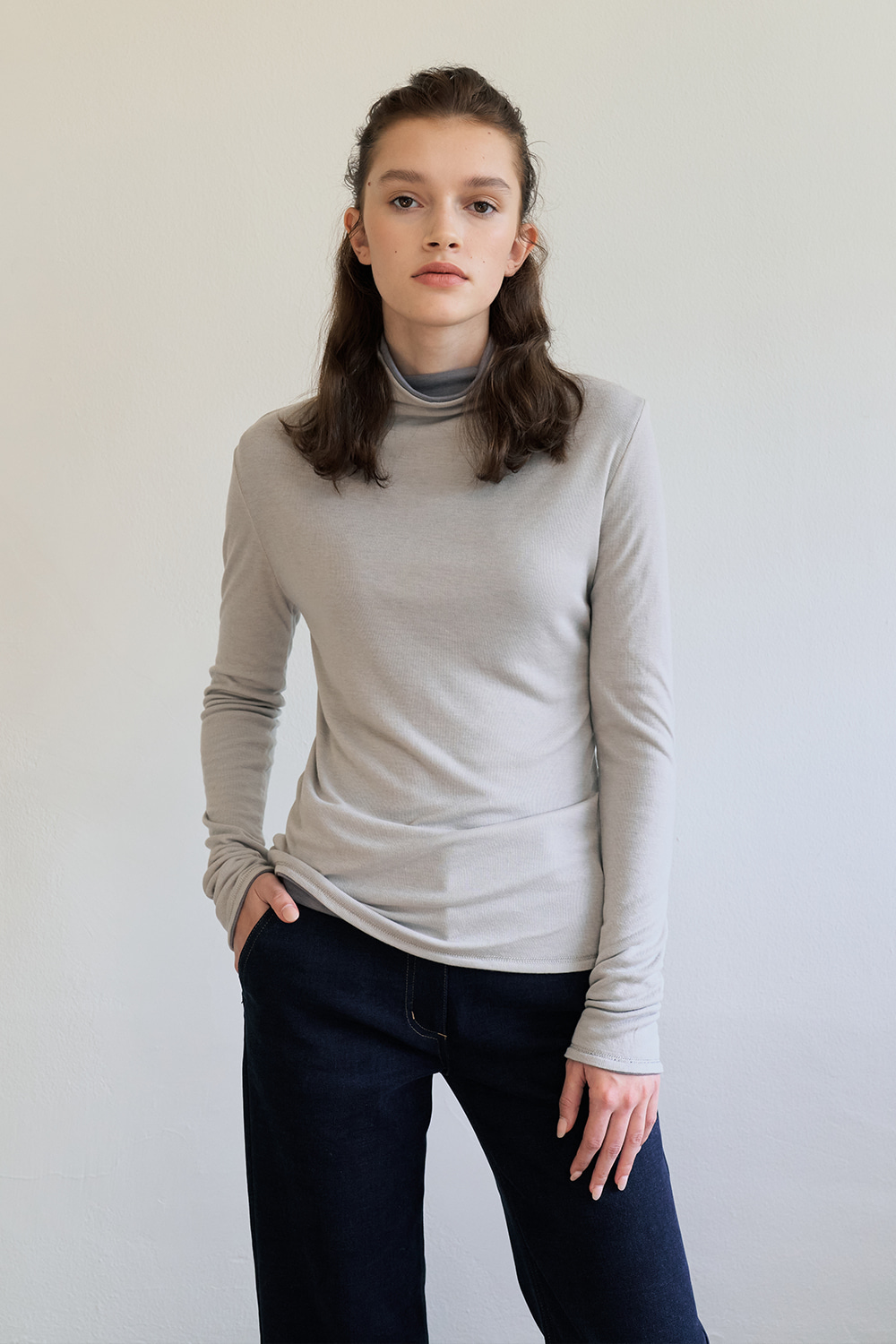 [Grey]complete top